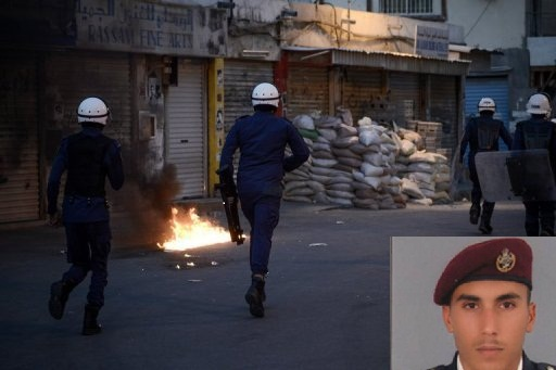 Bahraini Policeman Killed 5 Injured in a Petrol Bomb Attack