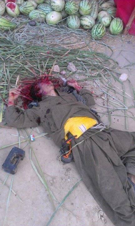 Hazara Town Suicide Bomber Shot Dead 27.03.13