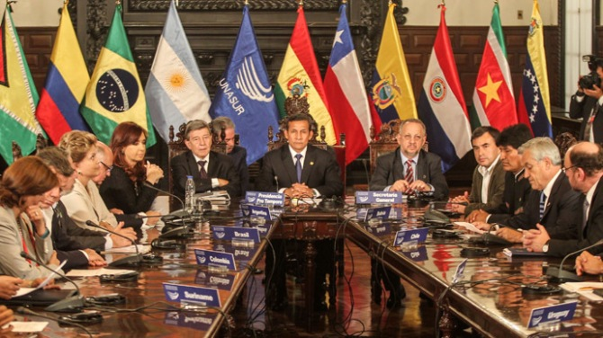PERU-VENEZUELA-ELECTION-UNASUR