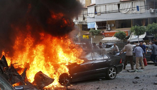 Hariri blames Israel for 'terrorist attack' in Beirut