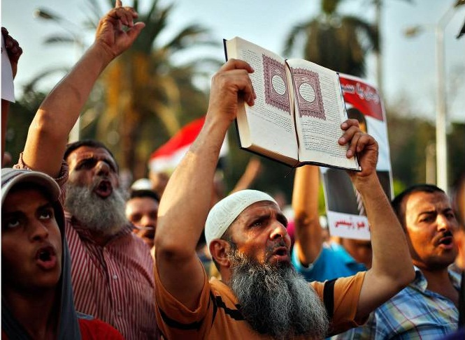 Muslim Brotherhood Supporters of Morsi