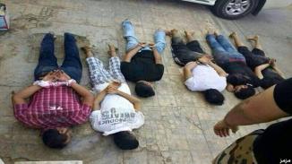 Saudi Shia Men detained after Burning & Destroying their homes.jpg-large