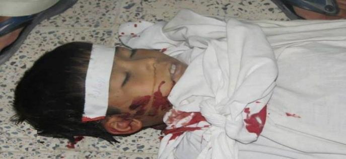 Shaheed e Imambargah Abu Talib , Hazara Town , Quetta , 30 June 2013
