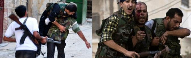Syrian rebel groups Infighting
