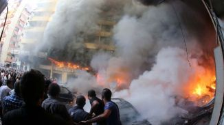 Beirut's Car Bomb Attack by Wahabi Terrorist Group Brigades of Aisha