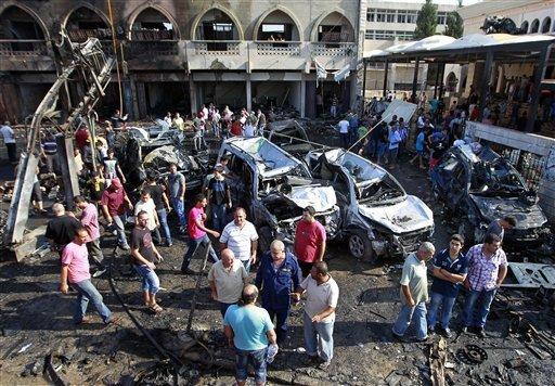Blast in Masjid Salam , Tripoli