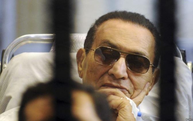 Ex Egyptian President Hosni Mubarrak