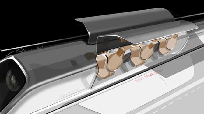 Hyperloop Passanger Capsule