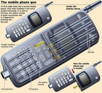 Mobile Phone Guns. a