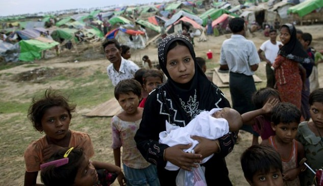 Myanmar forcefully relocates Muslims