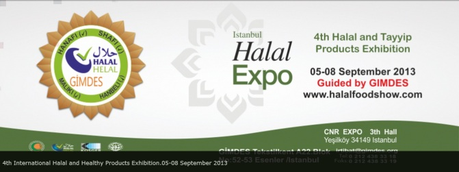 4th Halal Expo , Istanbul , Turkey