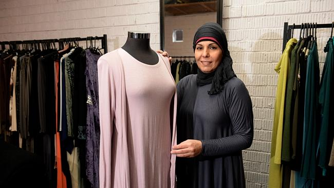 Muslim women's fashion exhibition