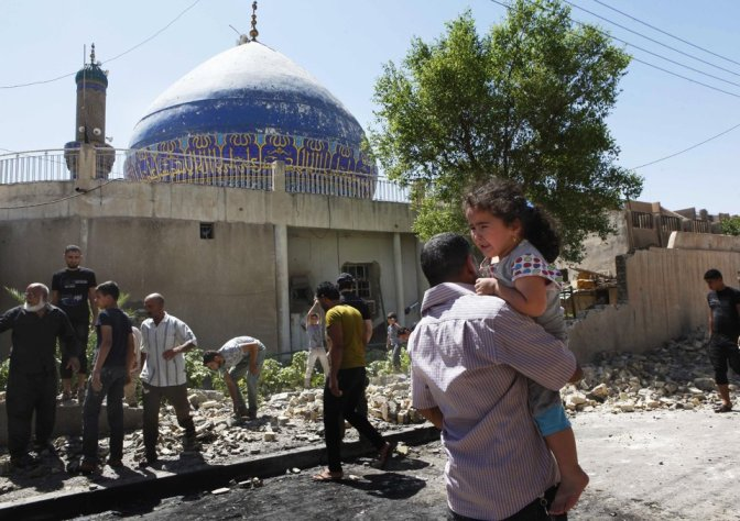 Baghdad Shiite Mosque Bomb Blasted