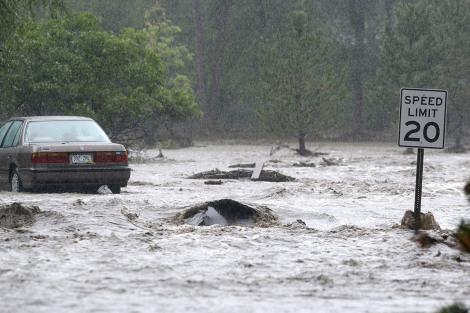 Deadly Floods in Colarado , US