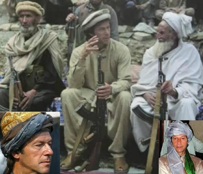 Imran Khan , Taliban Pattron