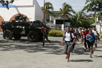 Muslim MNLF Rebels take over Southern City of Philippines