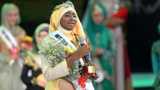Nigerian Aishah Ajibola wins World Muslimah 2013