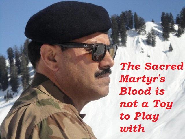 Pakistani Major General Sanaullah Martyred By Taliban 15 Sept , 2013