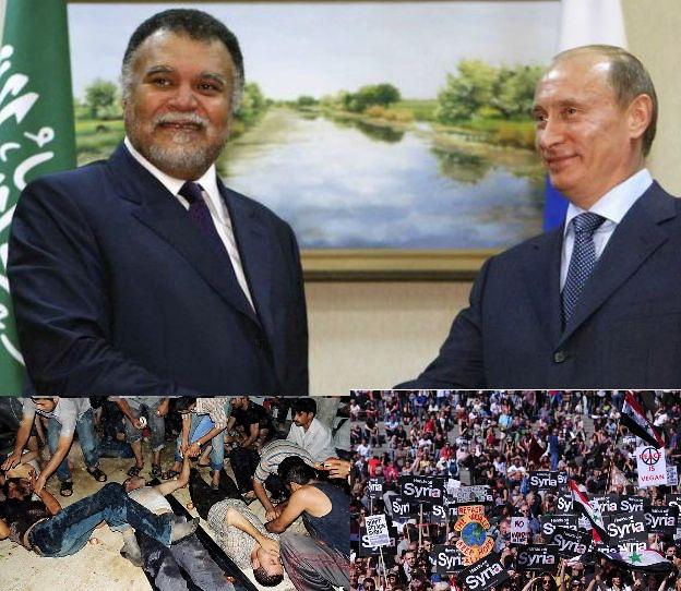 Saudi Bandar Bin Sultan vs Putin