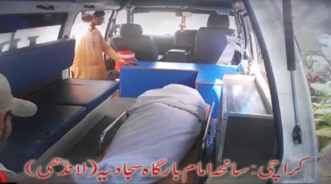 Shaheed Zakir Hussain's @ Imambargah Sajjadia Landhi , Karachi , 19.03.13 a