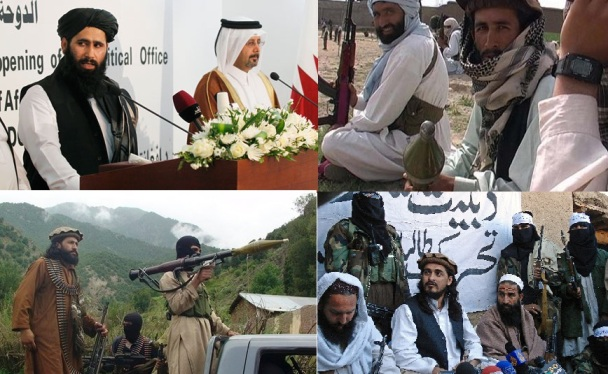 Taliban Terrorist being Pictured against their Islamic Injunctions of Photographry Prohibited