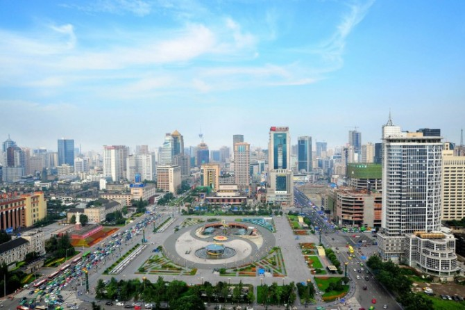 Tianfu-Square-Chengdu-Sichuan-China