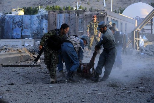 US Consulate in Herat , AFghanistan attacked by Suicide Bombers