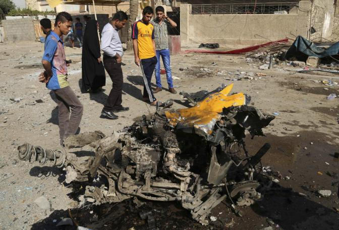 9 Car Bombs Kill 42 in shiite Districts of Baghdad