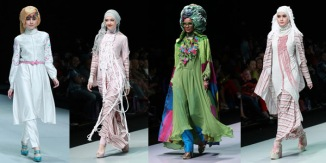 Islamic fashion Show , Jakarta , Indonesia k