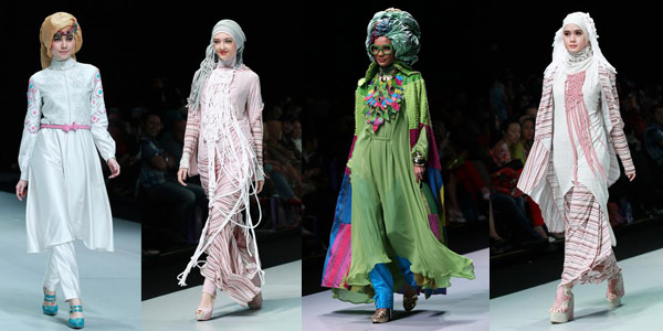 Islamic fashion Show , Jakarta , Indonesia k