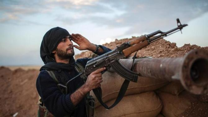 Kurd Fighters Seizes Border Post from the Al Nusra Terrorists