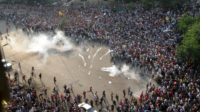 Muslim Brotherhood Protest against Military Govt of Egypt g