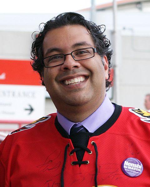 Naheed Nenshi Mayor of Cagary , Alberta , Canada 2013