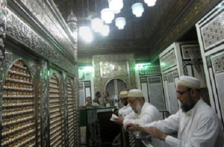 Shia Men in a Local Husainiya in Egypt