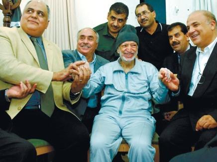 Yasir Arafat in Hospital