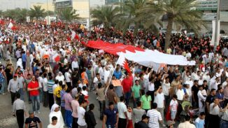 Bahraini Stage Massive Protest in Different Towns