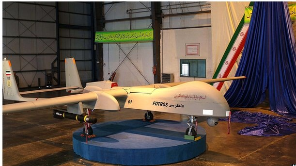 Iran Unveils the Biggest Drone Fotros , 2013