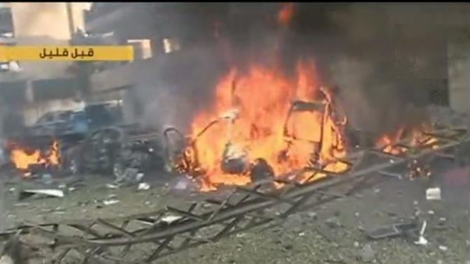 Irani Embassy Suicide Blast in Beirut , Lebanon, 19 Nov 2013 h