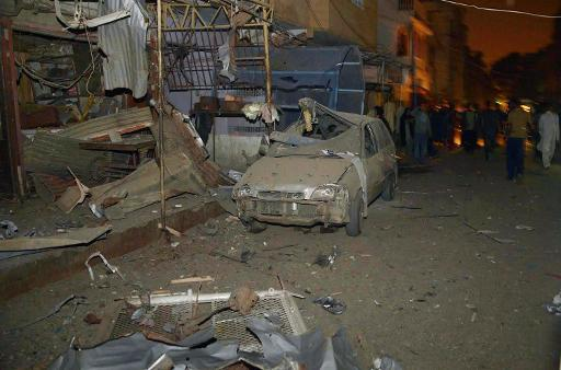 Twin Blast in Incholi Karachi , 22 November , 2013