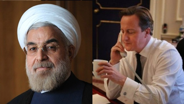 UK PM makes first call to Iran President