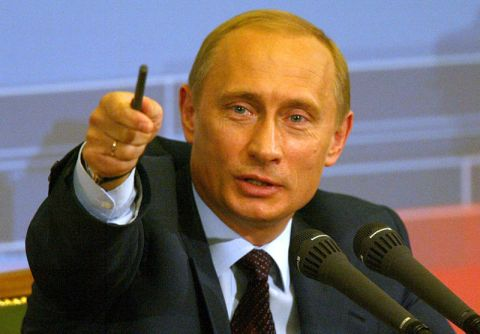 Viladmir Putin Angry