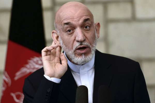 Afghan President Hamid Karzai refuses to sign the US Deal