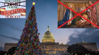 Christmas Without Christ in USA