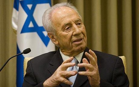 Israeli Presidernt Shimon Peres