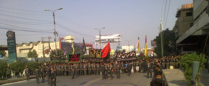 Karachi Chehlum Procession Dec 2013 a
