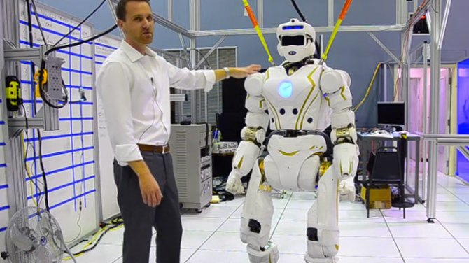 NASA built Humanoid
