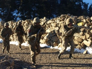 Pakistani Armed Forces in North Waziristan