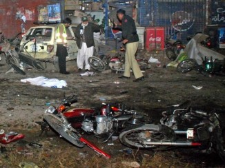 Suicide Bombing at ImamBargah , Gracey Lines , Rawal Pindi , 18 Dec 2013 b