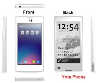 Yota Phone  Double Side Screen SmartPhone