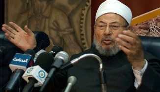 Egypt orders arrest of Qatar's Sheikh Qaradawi